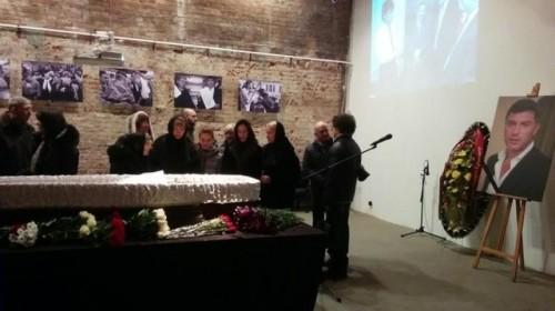 Церемония прощания с Борисом Немцовым. Фото: rrnews.ru