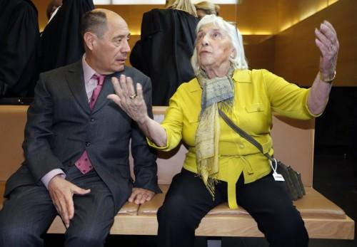 Клод Пикассо и Майя Видмайер-Пикассо. Фото: Eric Gaillard / Reuters