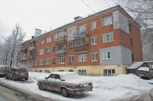 Это общежитие на улице Петровского было продано вместе с проживавшими в нём инвалидами по слуху. фото: Владимир Прохватилов