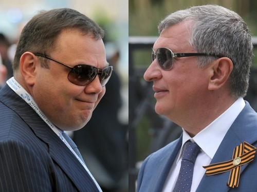 Михаил Фридман и Игорь Сечин