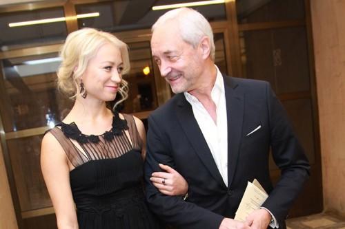 Депутат Московской городской думы, актер Евгений Герасимов с дочерью Ольгой