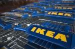 Тележки в магазине IKEA в Лондоне