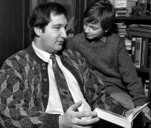 Дмитрий Рогозин с сыном Алексеем