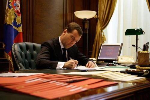 Распоряжение об отставке Дергуновой подписал премьер Дмитрий Медведев