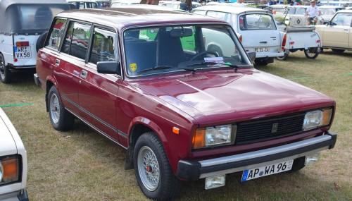 ВАЗ 2104. Начало производства: 1984 г. wikipedia.org/Magnus Manske