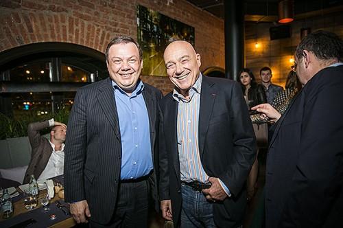 Михаил Фридман и Владимир Познер