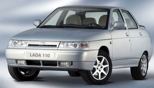 ВАЗ 2110. Начало производства: 1996 г. © LADA