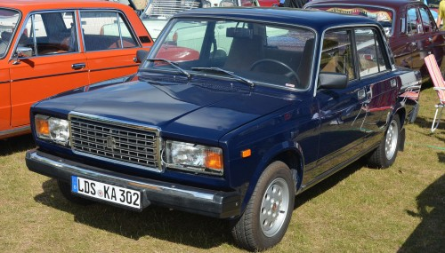 ВАЗ 2107. Начало производства: 1982 г. wikipedia.org/Magnus Manske