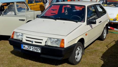 ВАЗ 2108. Начало производства: 1984 г. wikipedia.org/Magnus Manske