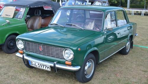 ВАЗ 2101. Начало производства: 1970 г. wikipedia.org/Magnus Manske