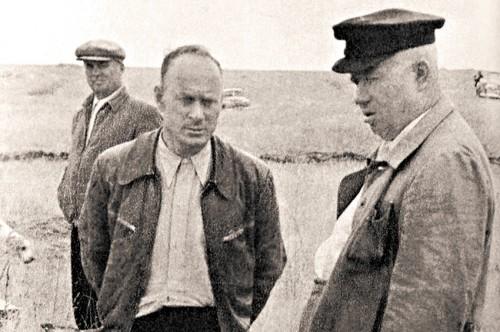 На охоте с Н.С. Хрущевым. Вторая половина 1950-х годов. Фото: Из личного архива Ивана Серова