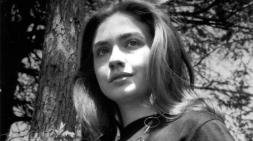 Хиллари Клинтон на озере Вабан в колледже Уэллсли