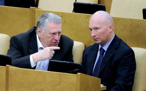 Владимир Жириновский и Игорь Лебедев.  Фото: © РИА Новости/Владимир Федоренко
