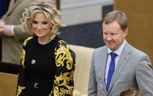 Мария Максакова-Игенбергс и Денис Вороненков. Фото: © РИА Новости/Владимир Федоренко