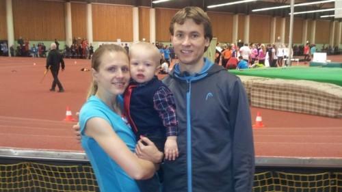 Юлия и Виталий Степановы с сыном
