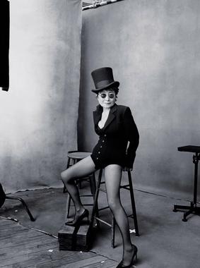 Художница Йоко Оно