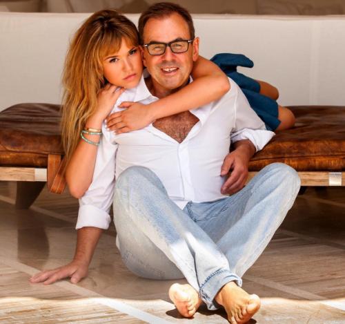 Мишель Литвак с дочерью Полиной Фото: Социальные сети