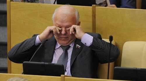 Депутат Госдумы от «Справедливой России» Анатолий Грешневиков Фото: Дмитрий Духанин, Коммерсантъ
