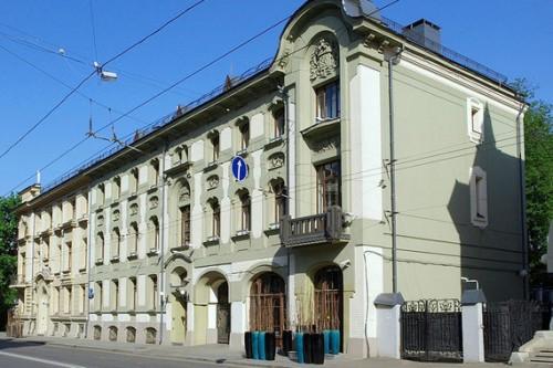 У дома архитектора Льва Кекушева на Остоженке новые владельцы NVO / Wikimedia