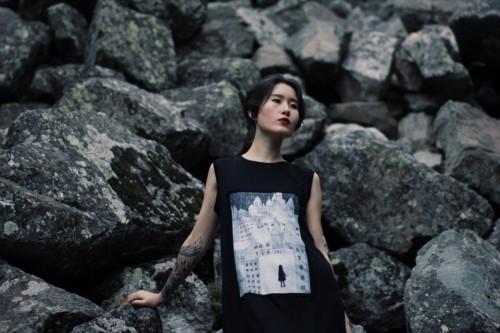 Алия Шагиева в платье собственного бренда. Фото: Социальные сети