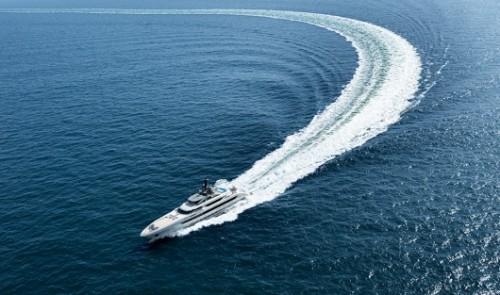 Galactica Super Nova - самая большая алюминиевая яхта в мире. Фото Dick Holthuis