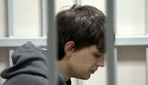 Дмитрий Колесников на избрании меры пресечения. Кадр: Youtube