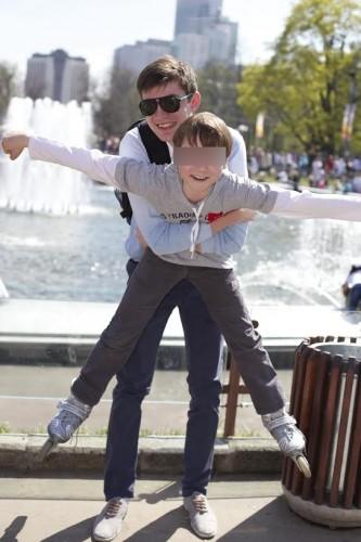 Дмитрий и Даня. Фото из личного архива