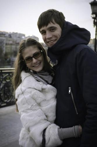 Дария Переверзева с Дмитрием Колесниковым. Фото из личного архива