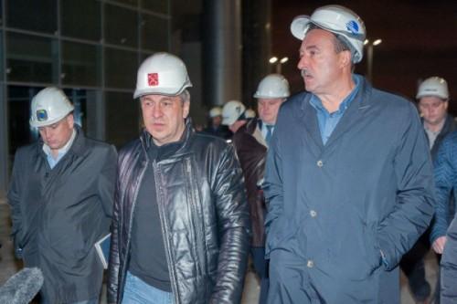 Питерский вице-губернатор Игорь Албин сделал очередное оптимистическое заявление по поводу строительства комплекса «Зенит-Арена»