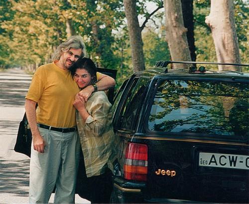 Сергей и Русудан в Грузии (2003)