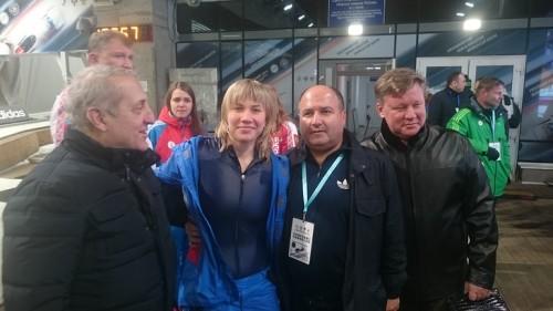 Георгий Беджамов и мария Орлова в Сочи