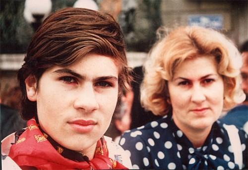 Сергей с мамой в Женеве (1974)