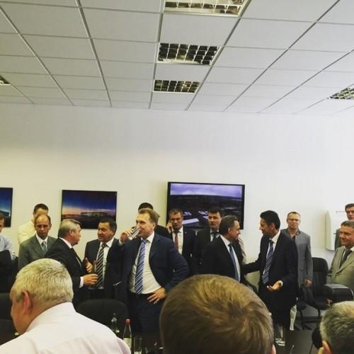 Игорь Шувалов на заседании Координационного совета Программы подготовки к проведению в 2018 году чемпионата мира по футболу