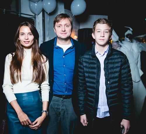 Дарья Баженова, Артем Михалков и Петр Михалков