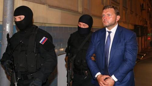 Суд отменил арест имущества экс-губернатора