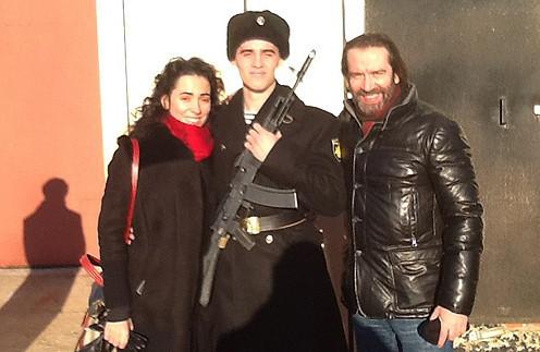 Пасынок актёра (сын Оксаны Шелест) называет Машкова отцом и даже носит фамилию звезды во всех социальных сетях Фото: Социальные сети