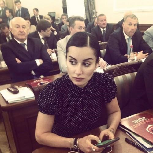 Тина Канделаки на заседании Координационного совета Программы подготовки к проведению в 2018 году чемпионата мира по футболу