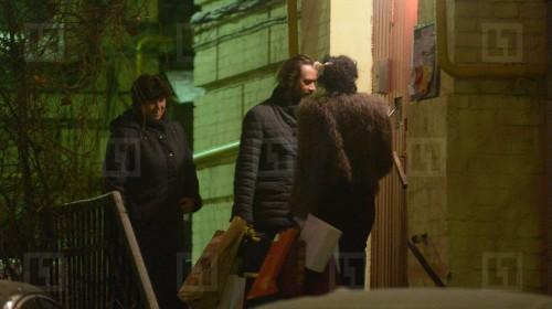 Бывшие супруги уже три года живут в квартире актёра на Страстном бульваре Фото: L!FE, ноябрь 2013