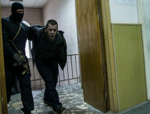 Темирлан Эскерханов в суде
