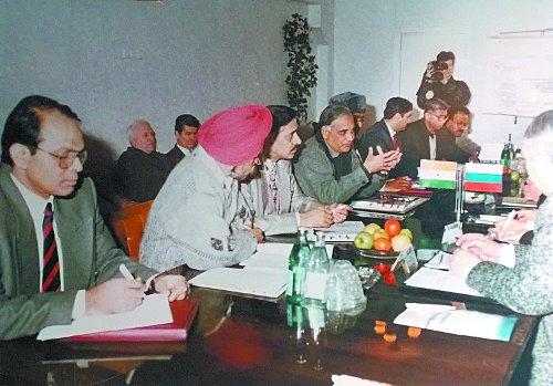Переговоры официальной делегации Индии с руководством «Уралвагонзавода». Февраль 1998