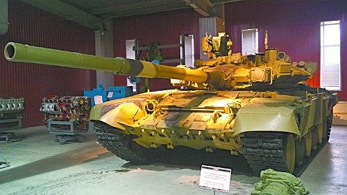В танковом музее «Уралвагонзавода»