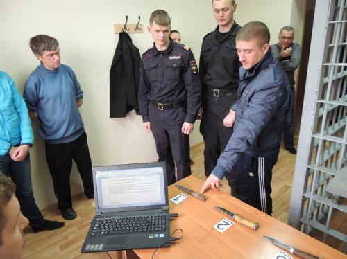 Следственный эксперимент. Фото: 1ul.ru