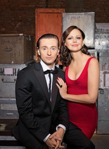 Сергей и Ирина Безруковы в съемке для HELLO!, архив журнала