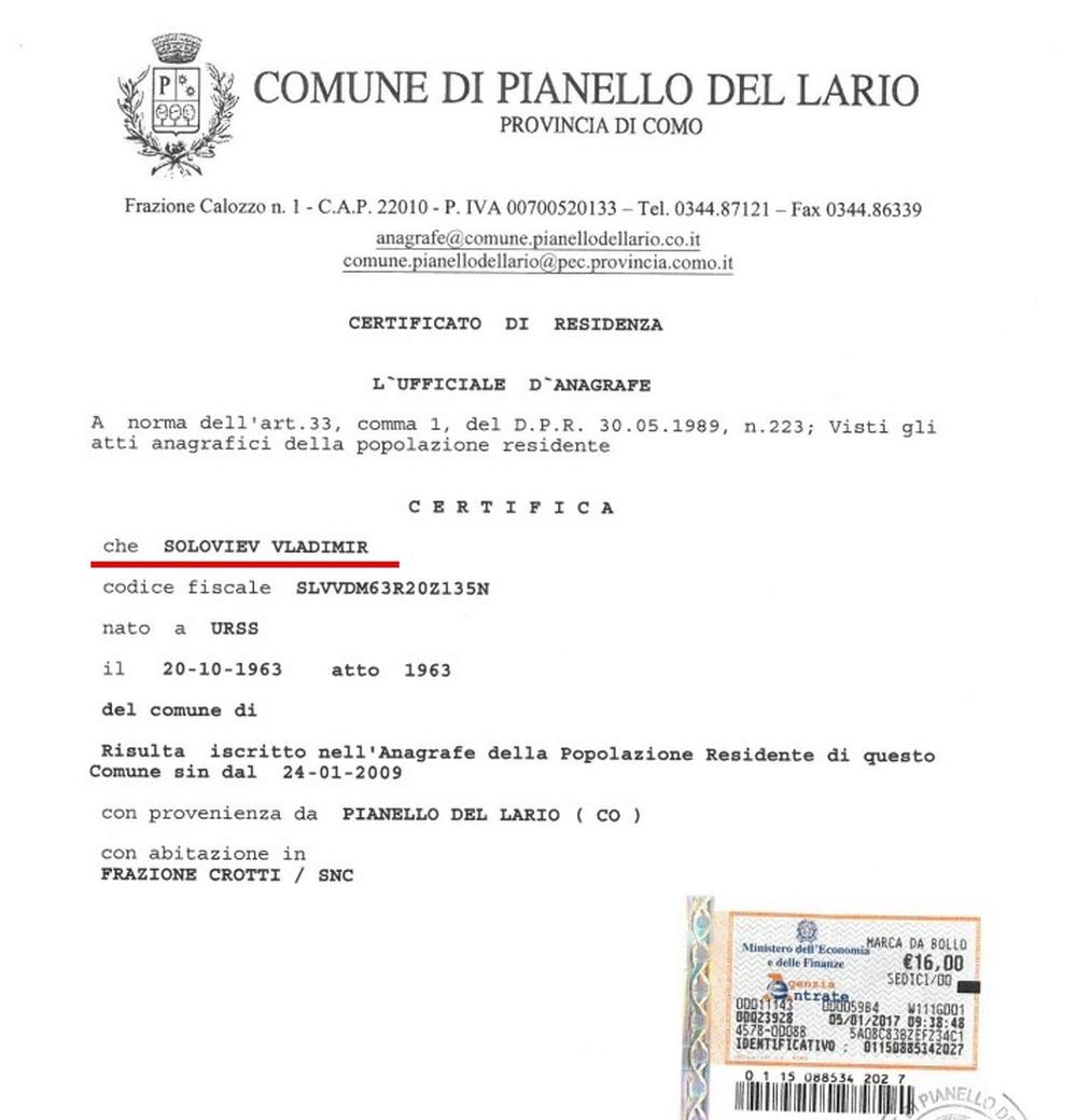 Сколько стоит жилье в италии в рублях